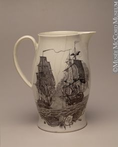 1760-1800 Jug at the McCord Museum, Montreal