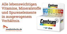 #ProduktDesTages: #Centrum. Bis zu 35 % (!) Ersparnis: ➤➤➤ https://www.medizinfuchs.de/centrum ---------#vitamine #mineralstoffe #gesundheit #medizin #medikamente #apotheke #arzneimittel #preisvergleich #medizinfuchs