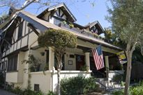 Santa Barbara bed & breakfast...great location, the cottage in the back is awesome!