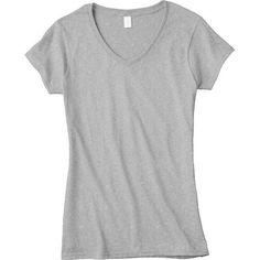 Gildan® Short Sleeve Missy V-Neck T-Shirt