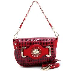 Women's Mini Croco Embossed Bag