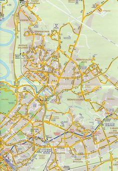 City Subway Map Rome