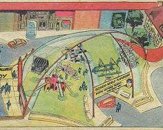 Superman Bizarro World Playground, 1972