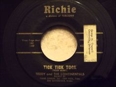 Teddy and The Continentals - Tick Tick Tock - Wilmington Delaware Rocker