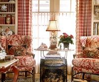 SEE MORE COUNTRY FRENCH...love this....reds are my favorite