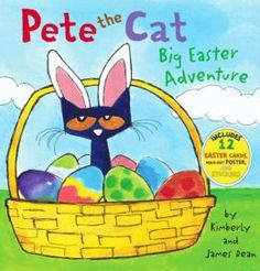 Pete the Cat: Big Easter Adventure  (Picture book by James Dean)