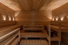 Saas Instruments: Light Is Wellbeing ~ Sauna from Finland Traditional Wall Lighting, Finnish Sauna, Linear Lighting, Lighting Manufacturers, Design Language, Lighting Solutions, Scandinavian Design, Finland, Beams