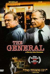 The General (1998):   The real-life story of Dublin folk hero and criminal Martin Cahill, who pulled off two daring robberies in Ireland with his team...   Director: John Boorman  Stars: Brendan Gleeson, Adrian Dunbar and Sean McGinley
