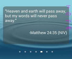 #GodsWord never fails