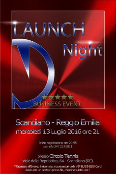 Launch Night - Business Event