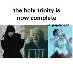 Yaaassssss the holy trinity