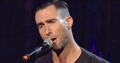 "Adam Levine Performs Jaw-Dropping Rendition Of ""Purple Rain"" via LittleThings.com"