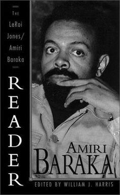 Amiri Baraka (LeRoi Jones), poet and author