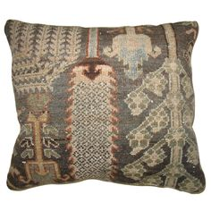 Charcoal Turkish Pillow