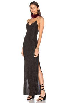 House of Harlow 1960 x REVOLVE Rae Dress in Black & Gold | REVOLVE