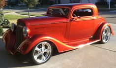1934 Chevy 3 Window  Coupe