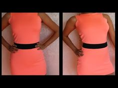 How to make Short Going Out/ Clubbing Dress DIY Neon Damav425