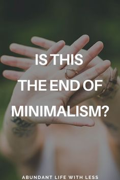 I've been asked a number of times since the beginning of this global pandemic if I regret going minimalist. If the scarcity of yeast and toilet paper had me regretting my decision to clear the clutter. If this is in fact, the end of minimalism? Why to become a minimalist. | #minimalism #becomeaminimalist