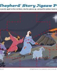 The wise men coded puzzle kids korner biblewise for Idea door journey to bethlehem