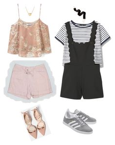 """Which outfit will you choose for your OOTD?"" by eriarai on Polyvore featuring MANGO, Violeta by Mango, adidas Originals and David Yurman"