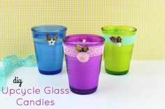 Diy How to reuse your old candle scraps and make new candles!