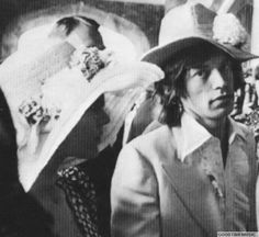 Marianne Faithfull & Mick Jagger,