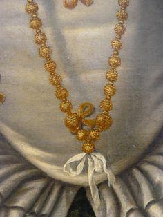 detail, Portrait of a Lady, 1540, Moretto da Brescia, National Gallery of Art Washington DC