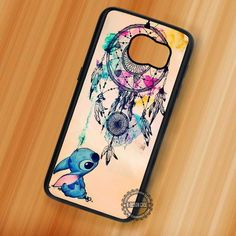 Cutie and Dream Catcher Lilo and Stitch Disney - Samsung Galaxy S7 S6 S5 Note 7 Cases & Covers