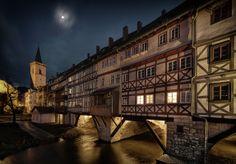 Krämerbrücke, Erfurt, Germany
