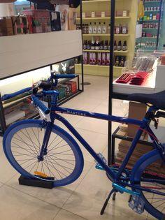 The bike for the London to Copenhagen bike tour July 2015 Copenhagen Bike, Reunification, Parthenon, British Museum, Bicycle, Tours, Wood Working, Club, Life