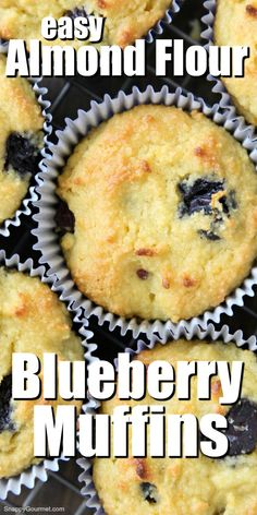 Easy Almond Flour Blueberry Muffins Easy Almond Flour Blueberry Muffins – This lower carb and gluten free muffin recipe is great for Blueberry Recipes With Almond Flour, Healthy Blueberry Recipes, Gluten Free Blueberry Muffins, Almond Flour Muffins, Healthy Blueberry Muffins, Lemon Dessert Recipes, Healthy Muffin Recipes, Best Low Carb Recipes, Blueberry Desserts