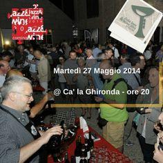 È vero che siamo Jazz&Wine ma non ci siamo dimenticati del Food: domani sera vi aspettiamo alle 20 Ca' la Ghironda - ModernArtMuseum - prima del concerto di Carlo Maver - per un ricco buffet* a km zero accompagnato dai vini delle cantine partecipanti.   E coi nostri carnet Zola Jazz&Wine è ancora più conveniente!  info --> www.zolajazzwine.it   *buffet compreso nel biglietto di entrata.   Vi ricordiamo che sono aperte le prevendite allo IAT di Zola Predosa @iatcollibolognesi   #zolajazzwine