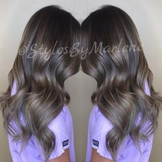 """Ash Brown Balayage.…"""