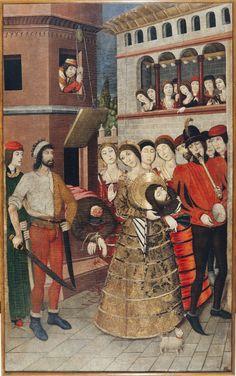 Decapitación de san Juan Bautista | Museu Nacional d'Art de Catalunya