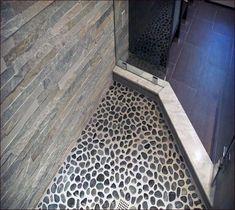 Top 60 Best Bathroom Floor Design Ideas - Luxury Tile Flooring Inspiration Pebble Shower Floor, Grey Bathroom Floor, Best Bathroom Flooring, Stone Bathroom, Home Design, Interior Design Guide, Design Ideas, Carpet Design, Floor Design