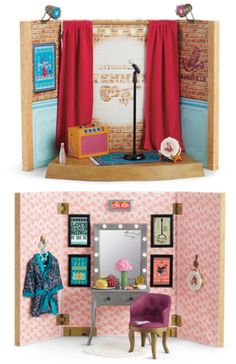 American Girl Tenney/'s On Air sign lights up Stage Dressing Room NEW Tenney Gran