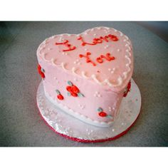 heart cakes - Google Search