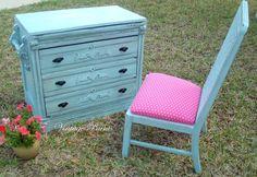 ~ Gossamer Blue Desk Set ~