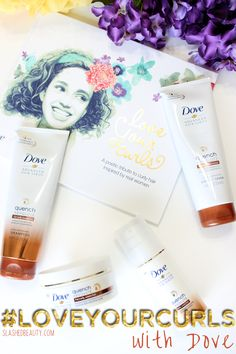Review: Dove Quench Absolute Collection + An Open Letter to My Curly Hair