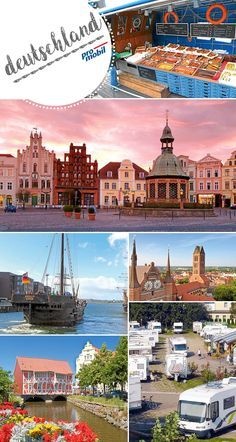 #Wohnmobil-Städtetrip nach #Wismar Die alte #Hansestadt an der #Ostsee  Vom #Stellplatz am Westhafen sind viele Sehenswürdigkeiten der alten Hansestadt #Wismar bequem zu Fuß zu erreichen – vom großen Marktplatz bis hin zu einem Segelschiff der ganz besonderen Art.
