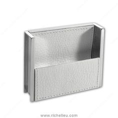 contemporary recessed leather pull 9501 richelieu hardware cascadia hardware distributors c125 shaped
