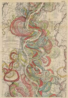 New item in my etsy shopAncient Courses of the Misissippi River Meander Belt Sheet 10 geological survey map vintage reproduction 1943 by PanchromaticaDesigns. Find it here http://ift.tt/1XfkOl1