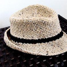 iKNITS: Crochet a Fedora Hat Free pattern via video tutorial