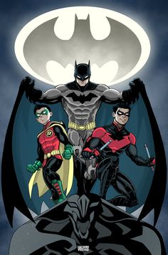 Batman And Sons by LucianoVecchio on DeviantArt
