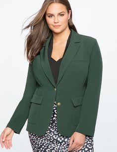 Quinn Contrast Collar Blazer