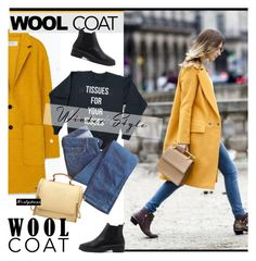 """""""Cold Weather Essentials: Wool Coat 3"""" by paculi ❤ liked on Polyvore featuring мода, Zara, Edwin, woolcoat и nastydress"""