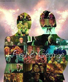 J.K. Rowling has said that Fred and George are among her favourite characters.  #HappyBirthdayFredAndGeorge