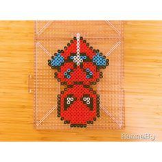 Spiderman perler beads by hannah