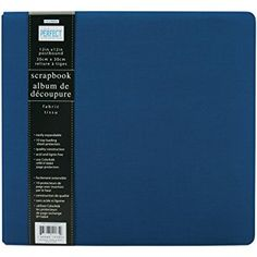 Colorbok 12-Inch by 12-Inch Perfect Scrapbook Fabric Album, Blueberry Review