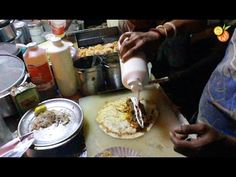Authentic Street Food India - Chicken Roll - Indian Street Food - Street Food…